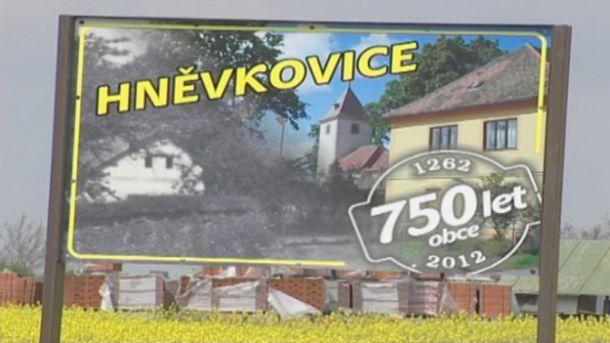 Hněvkovice slaví 750. výročí