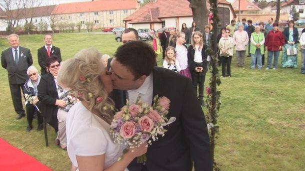 Svatba u rybníka